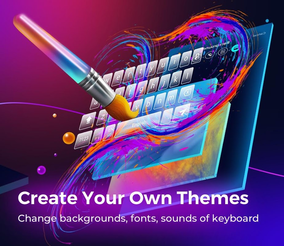 Cheetah Keyboard -  Emoji & Stickers Keyboard 4.36.0 Screen 6