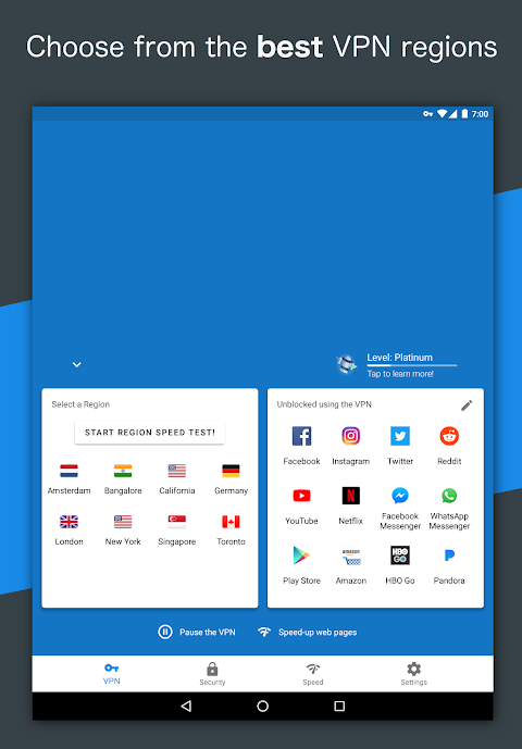 Hotspot VPN - Free, Unlimited, Fast, and Secure! 6.3.1008 Screen 16