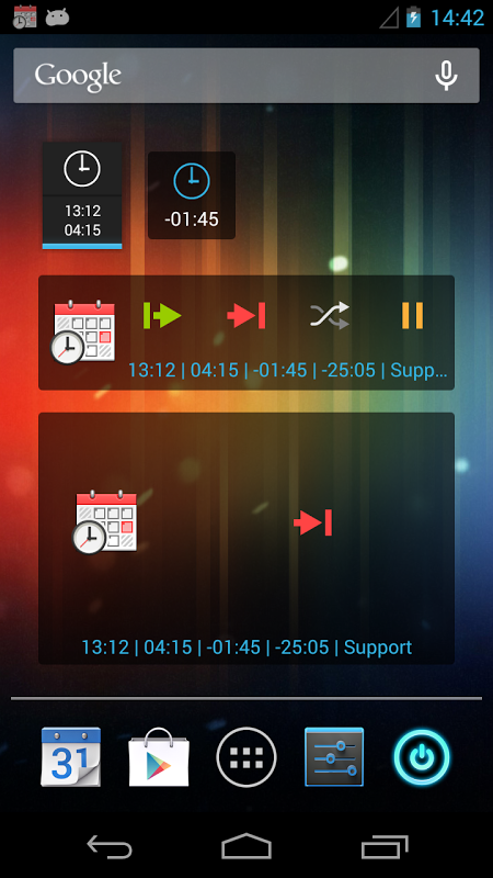 Time Recording - Timesheet App 7.07 Screen 5