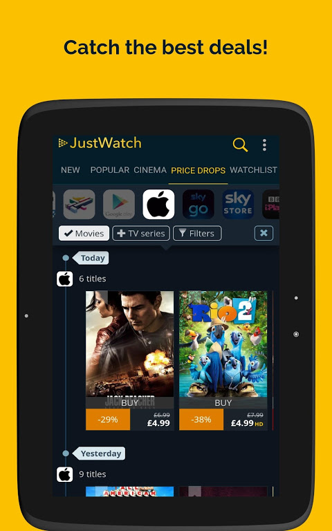 JustWatch - Search Engine for Streaming and Cinema 0.24.58 Screen 14