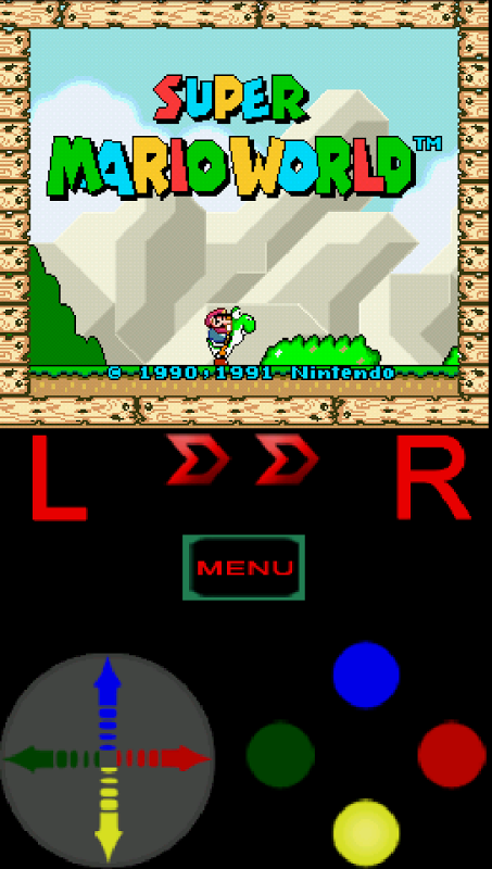 CyaSNES Lite (SNES Emulator) 1.0.5 Screen 4