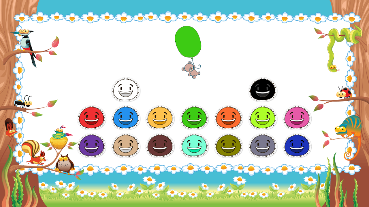 Android Toddler Colors Learning - Kids Educational Game Screen 3