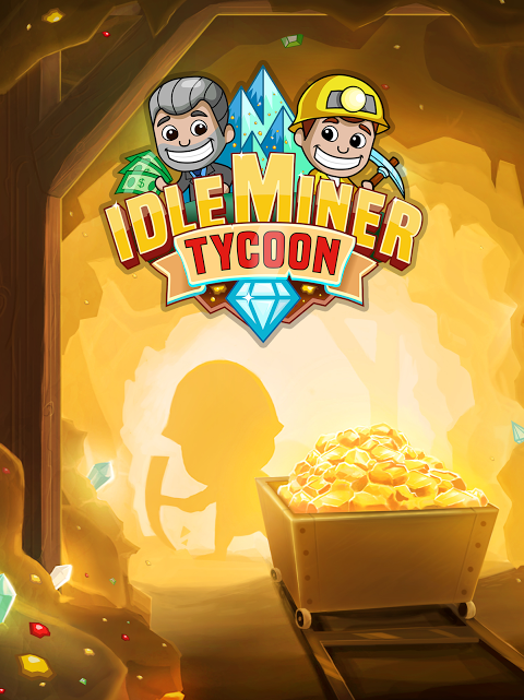 Android Idle Miner Tycoon Screen 1