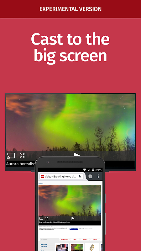 Android Firefox Nightly for Developers (Unreleased) Screen 3