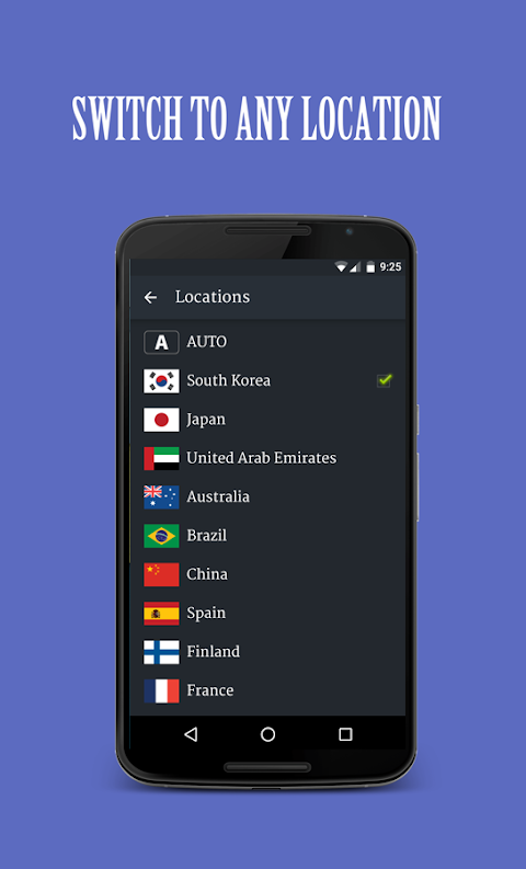 Android Solo VPN - One Tap Free Proxy Screen 1