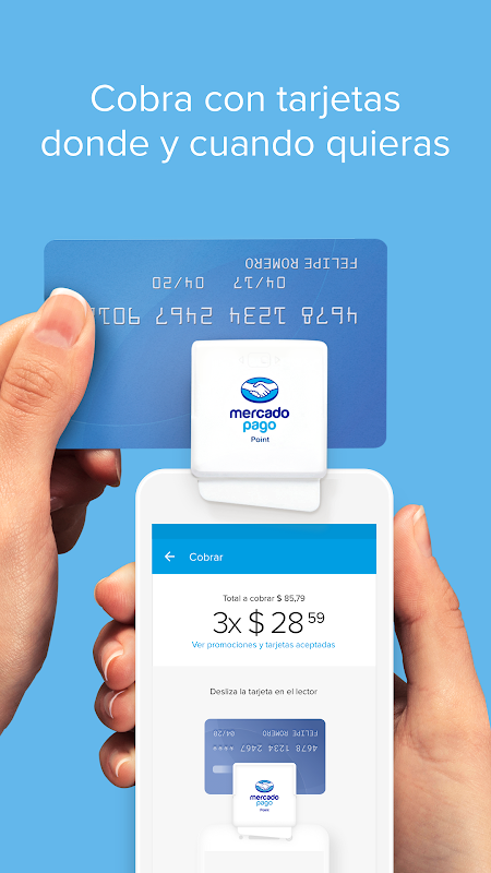 Android Mercado Pago: recargar saldo y pagar cuentas Screen 3