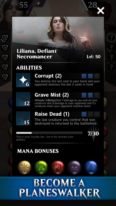 Magic the Gathering Puzzle Quest 1.9.1.14044 Screen 3