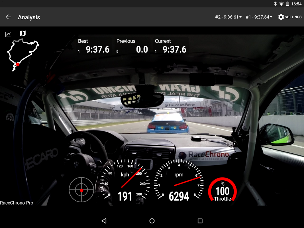 Android RaceChrono Pro Screen 13