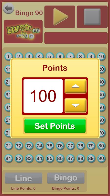 Bingo at Home 3.3.0 Screen 1