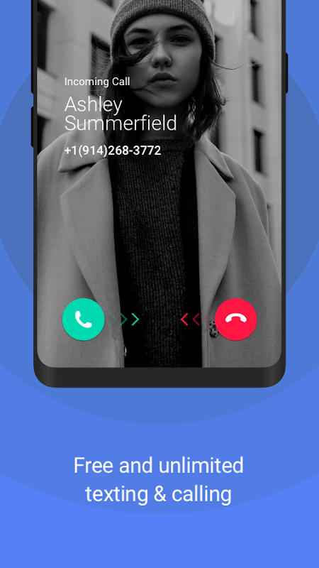 Android TextNow - Free US Phone Number Screen 1