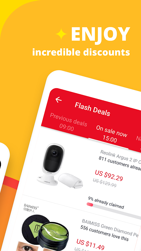 AliExpress Shopping App- $100 Coupons For New User 7.4.1-playgo Screen 11