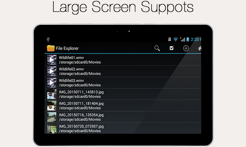 File Explorer and Manager 1.1 Screen 4