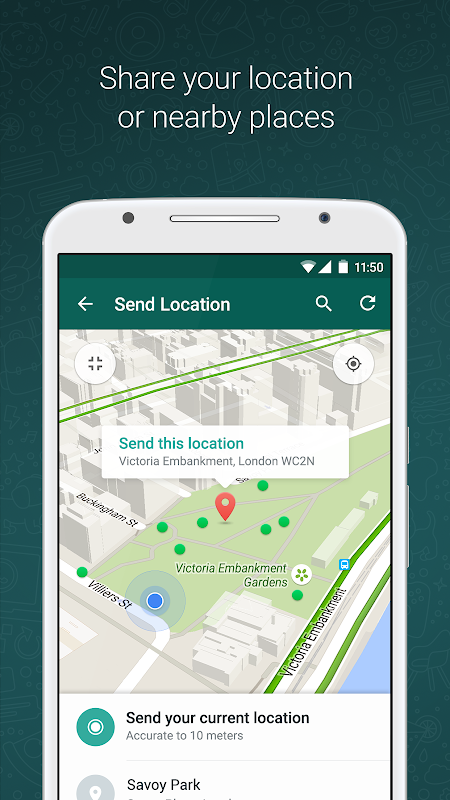 WhatsApp Messenger 2.19.140 Screen 4
