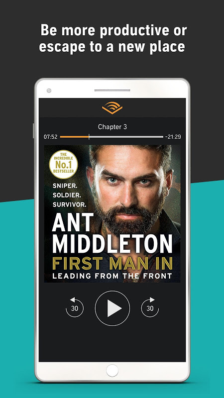 Audiobooks from Audible 2.31.1 Screen 7