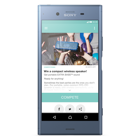 Android Xperia Lounge (entertainment) Screen 7