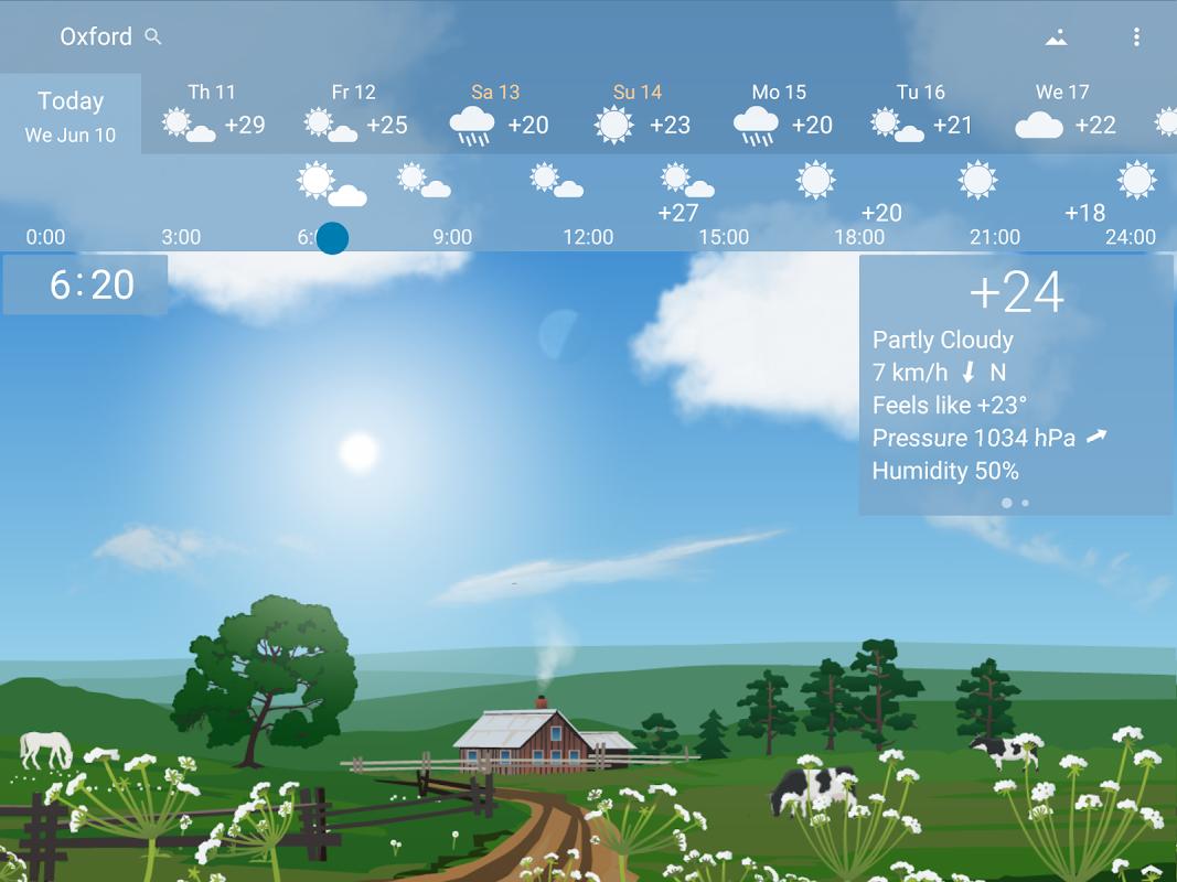 Precise Weather YoWindow 1.33.17 Screen 5
