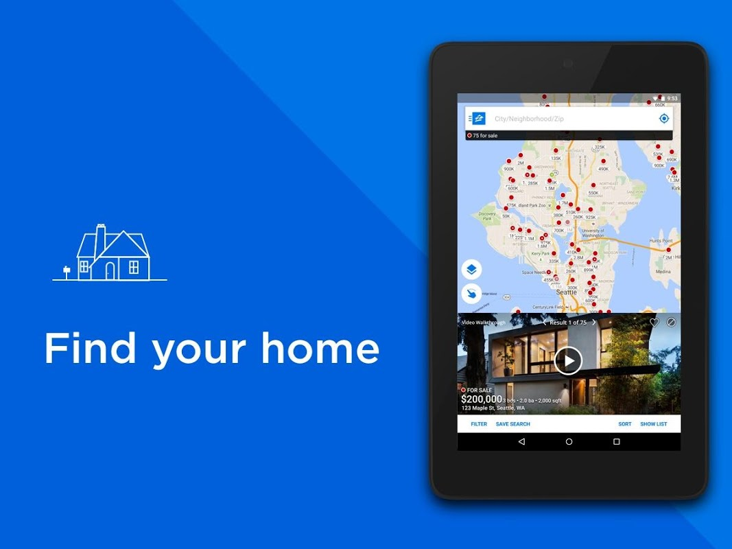 Android Zillow: Find Houses for Sale & Apartments for Rent Screen 5