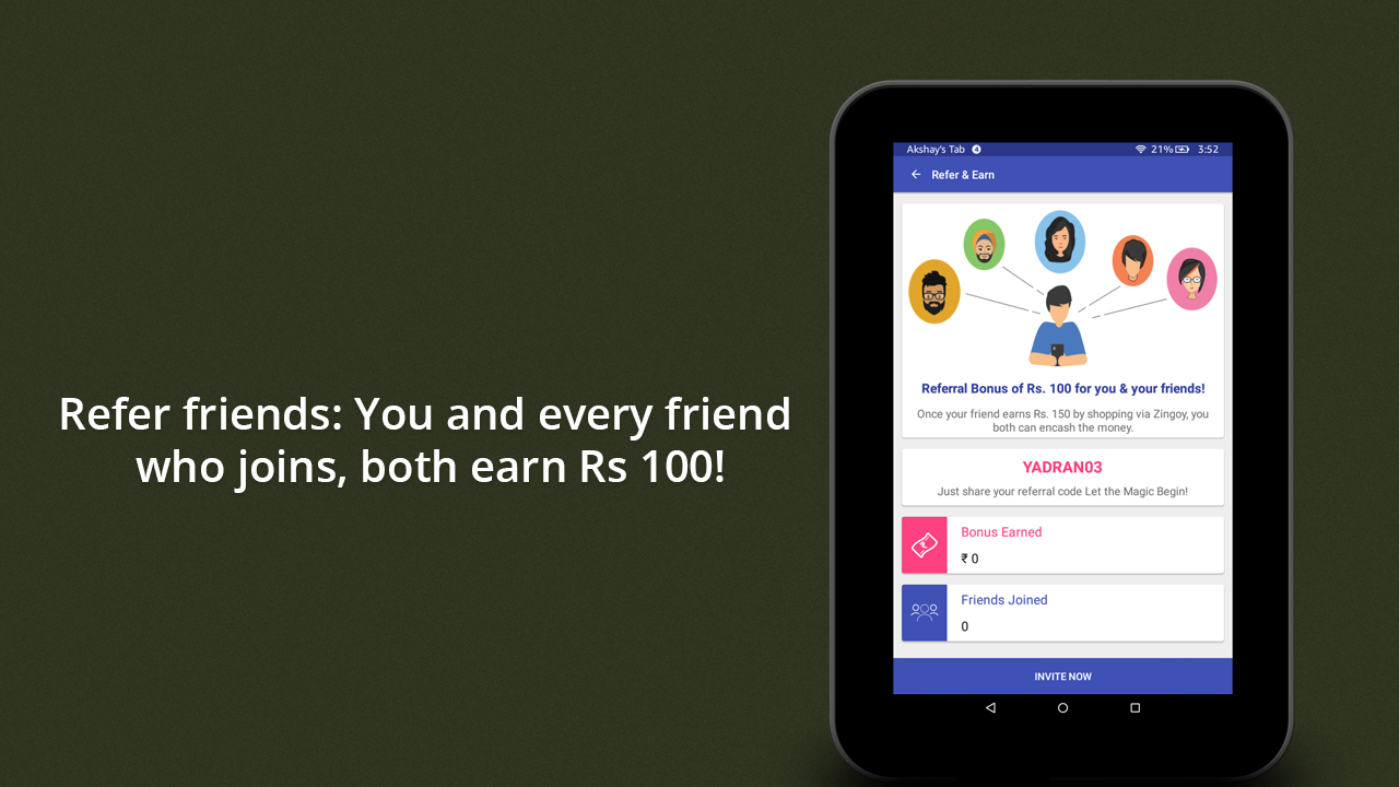 Zingoy - Gift Cards, Cashback Offers & Coupons 1 3 5 APK