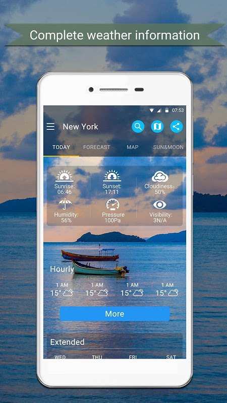Android Weather Screen 6