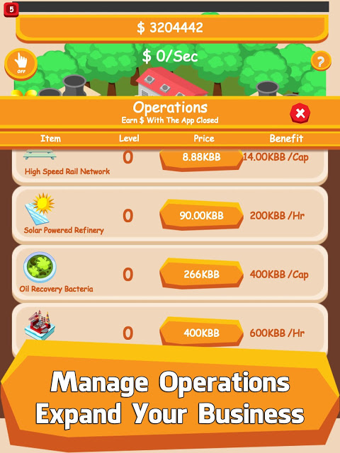 Android Oil Tycoon - Idle Clicker Game Screen 4