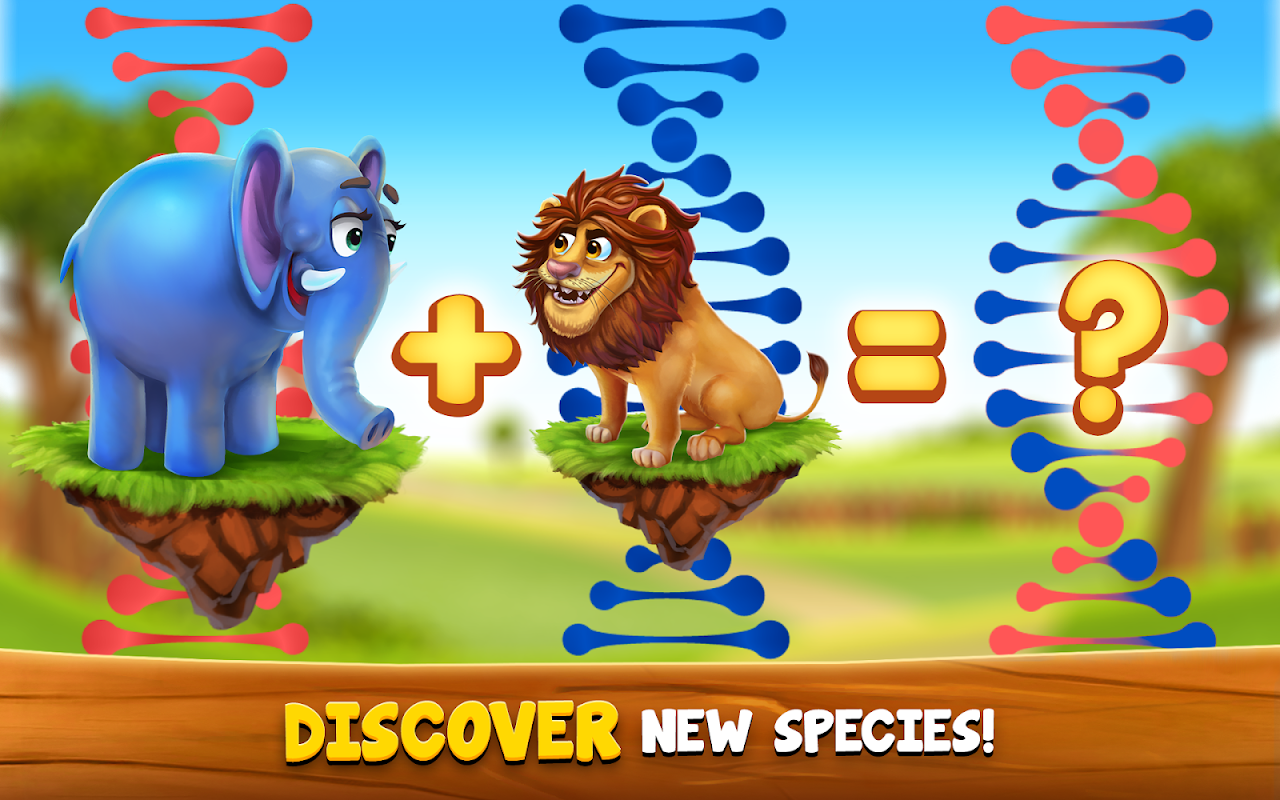 Android ZooCraft: Animal Family Screen 2