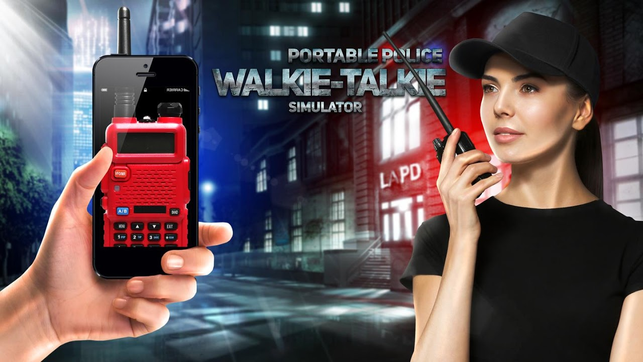 Android Portable police walkie-talkie Screen 1