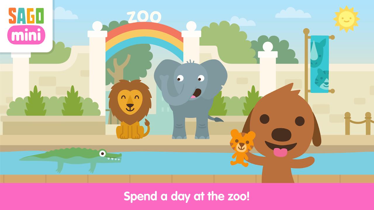 Android Sago Mini Zoo Screen 1