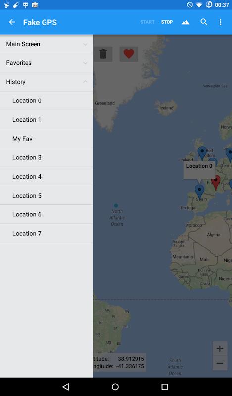 Fake GPS 4.8.4 Screen 16