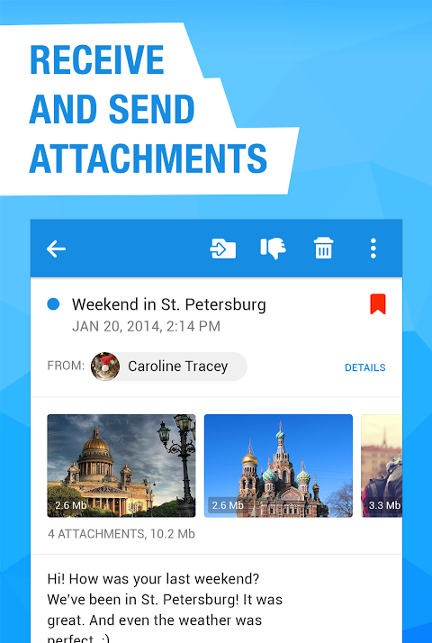 Mail.Ru - Email App 8.2.0.25646 Screen 4