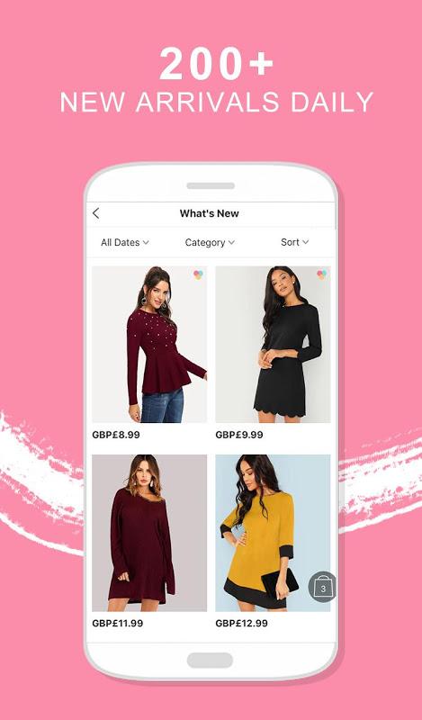 SHEIN-Fashion Shopping Online 6.5.2 Screen 1