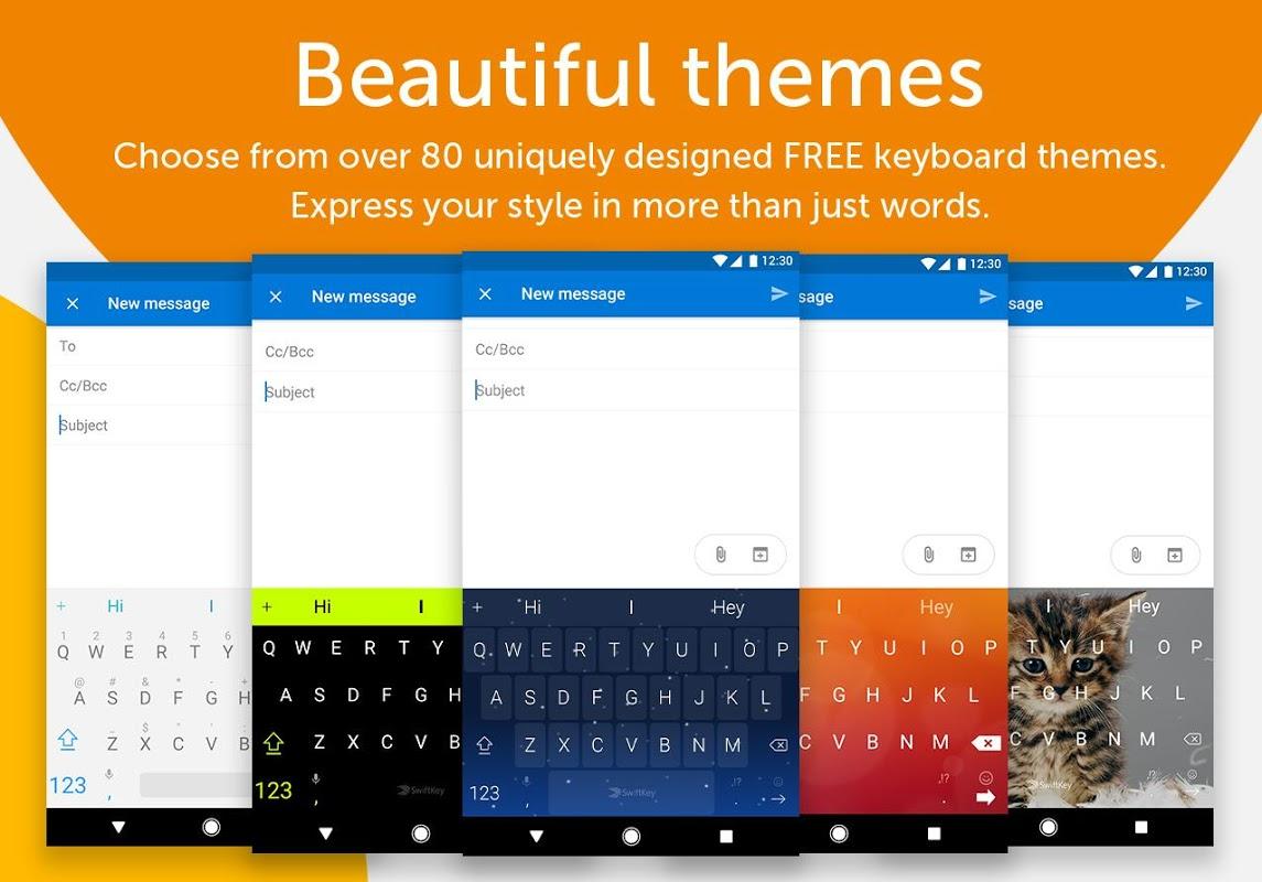 SwiftKey Keyboard 7.2.0.18 Screen 3