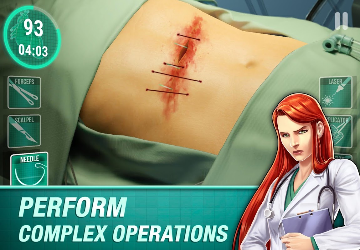 Operate Now: Hospital Doctor 1.7.4 Screen 2