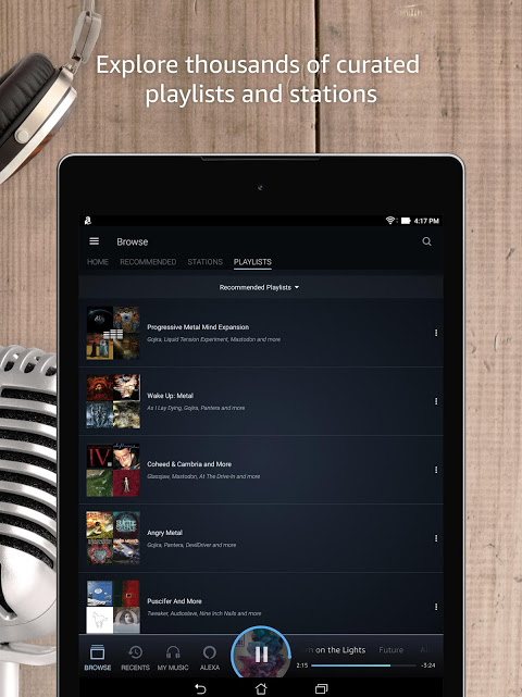 Amazon Music 7.8.4_307080410 Screen 12