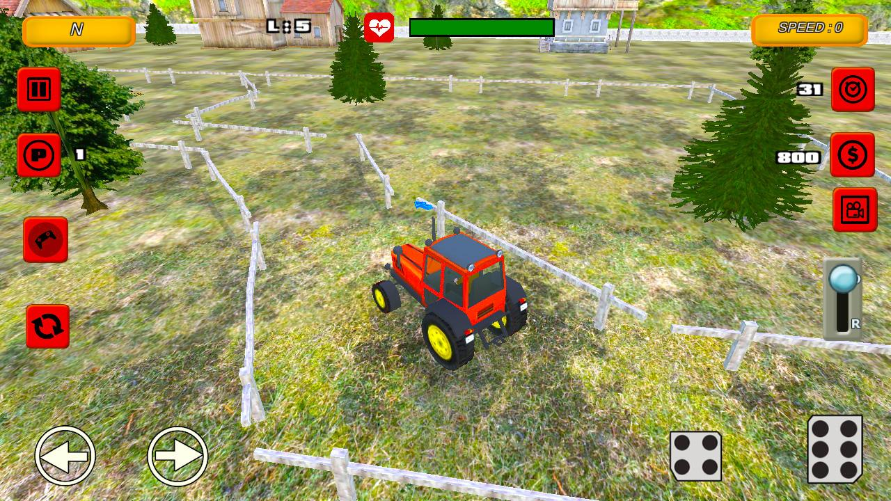 Tractor Farm Parking Drive 1.0 Screen 4