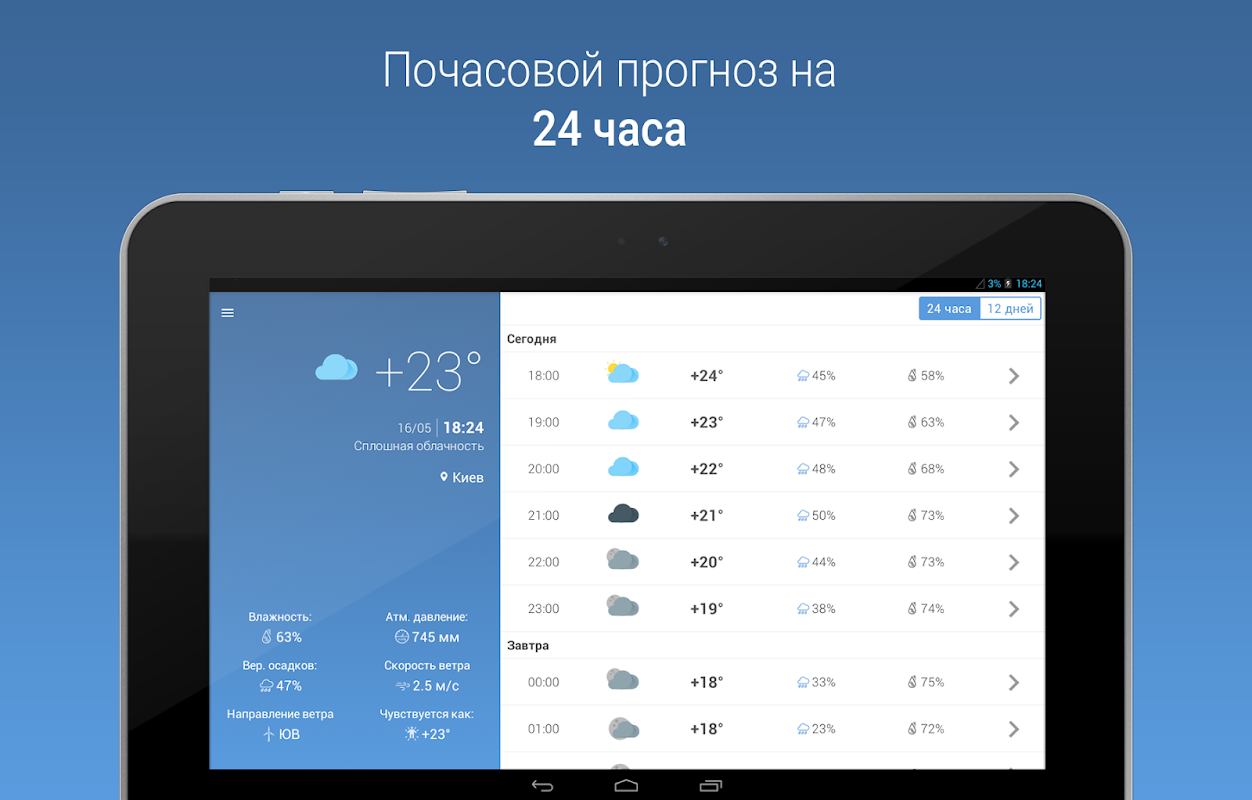 MeteoScope - Точная погода 1.3.7 Screen 6