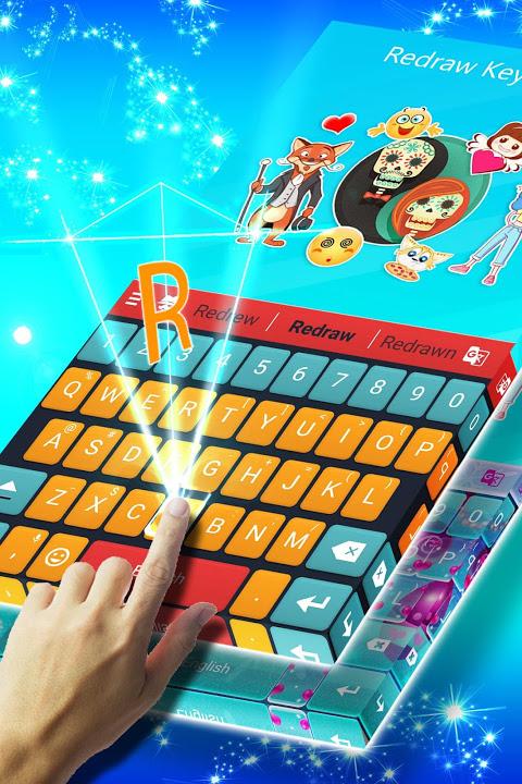 Redraw Keyboard Emoji & Themes 2.8.2c Screen 3