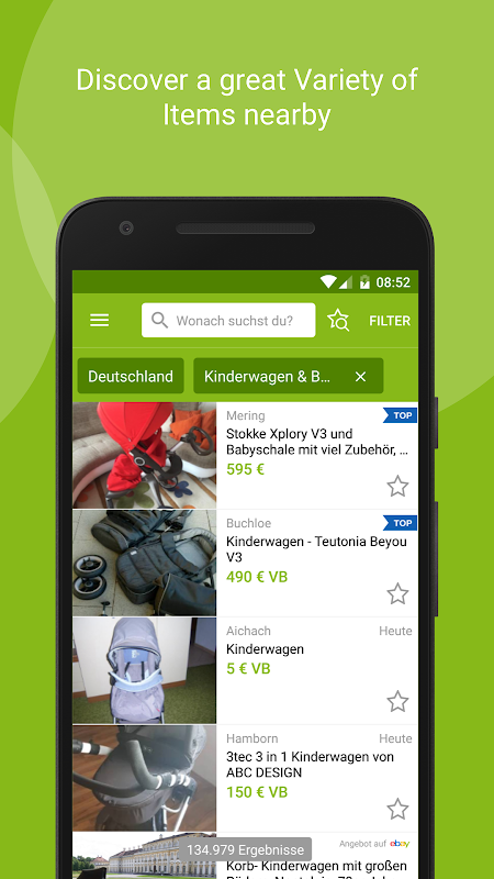 eBay Kleinanzeigen for Germany 8.8.0 Screen 1