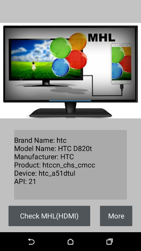 Checker for MHL (HDMI) 1.4.3 Screen 3