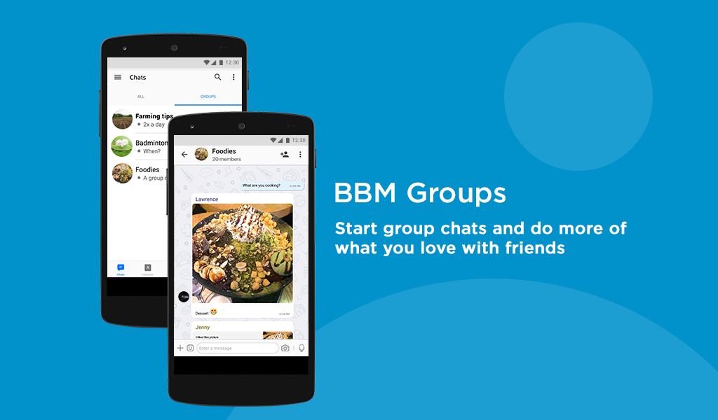 Android BBM - Free Calls & Messages Screen 9