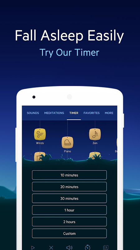 Relax Melodies P: Sleep Sounds 6.7.4 Screen 4