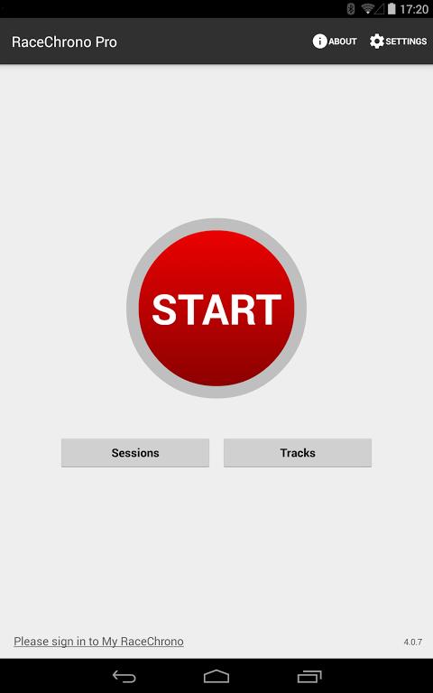 Android RaceChrono Pro Screen 15