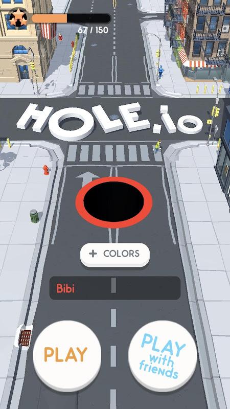 Android Hole.io Screen 4