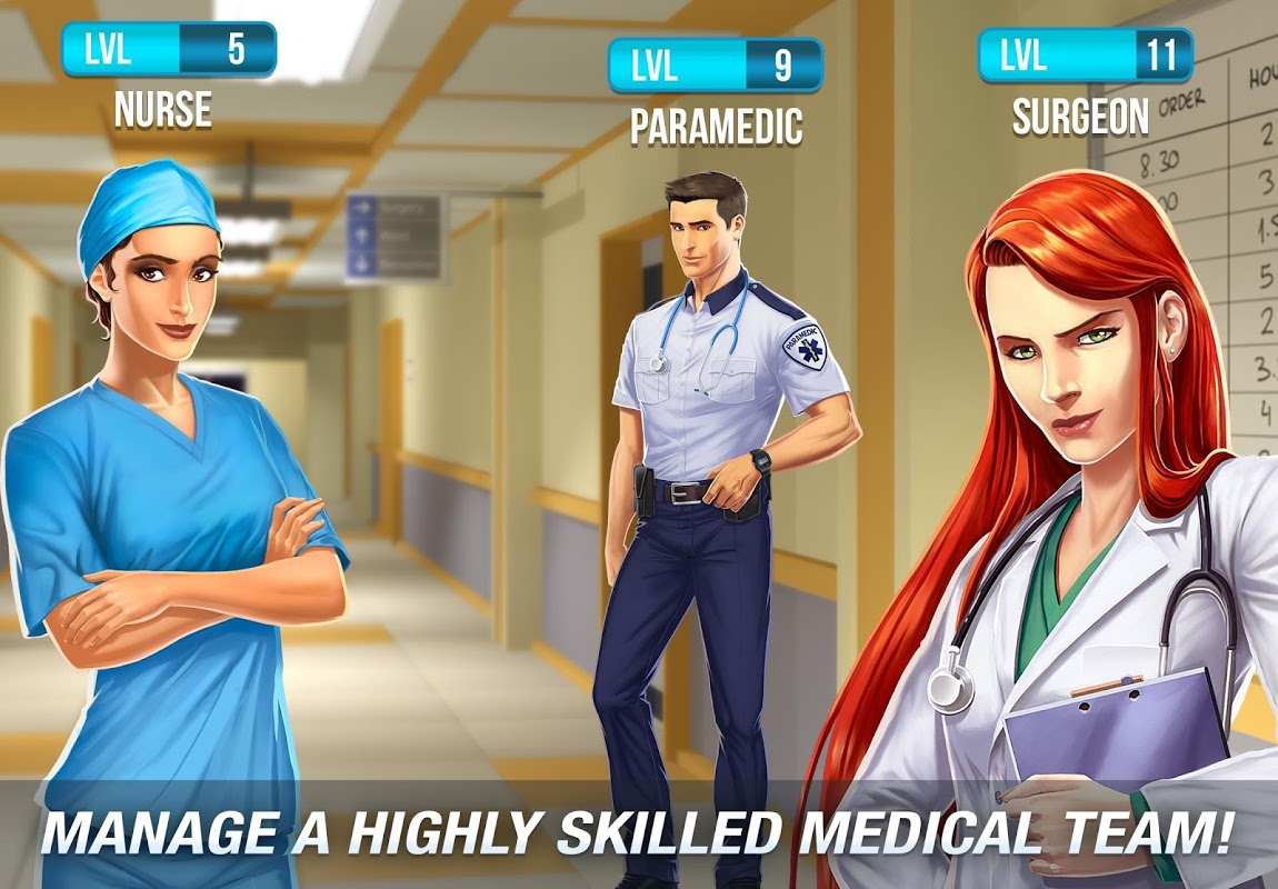 Operate Now: Hospital 1.18.4 Screen 2