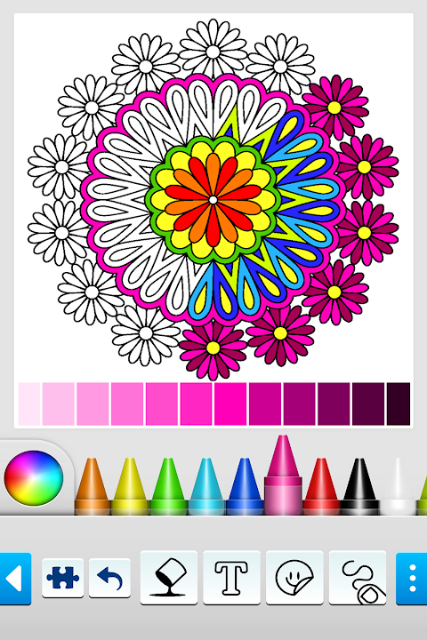 Mandala Coloring Pages 10.2.0 Screen 15