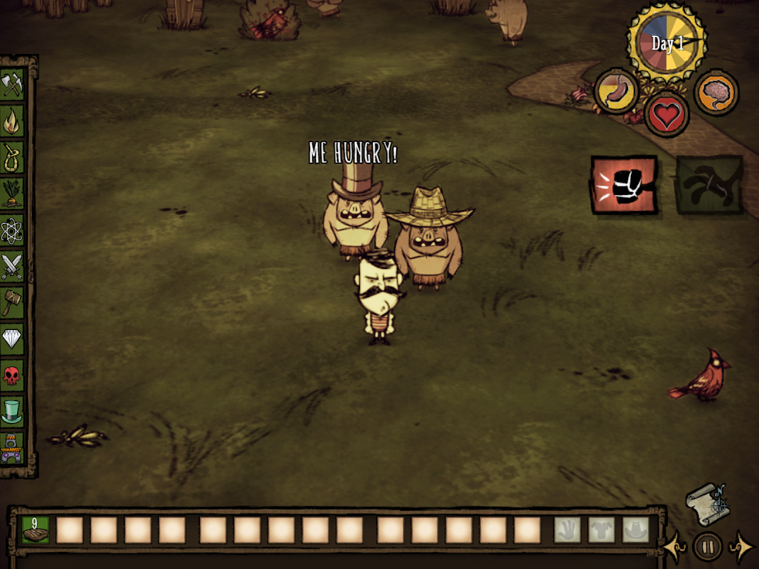 Don't Starve: Pocket Edition 1.07 Screen 5