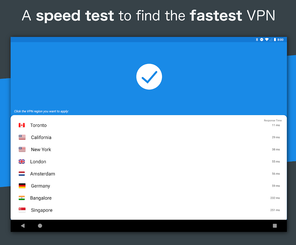 Hotspot VPN - Free, Unlimited, Fast, and Secure! 6.3.1008 Screen 3