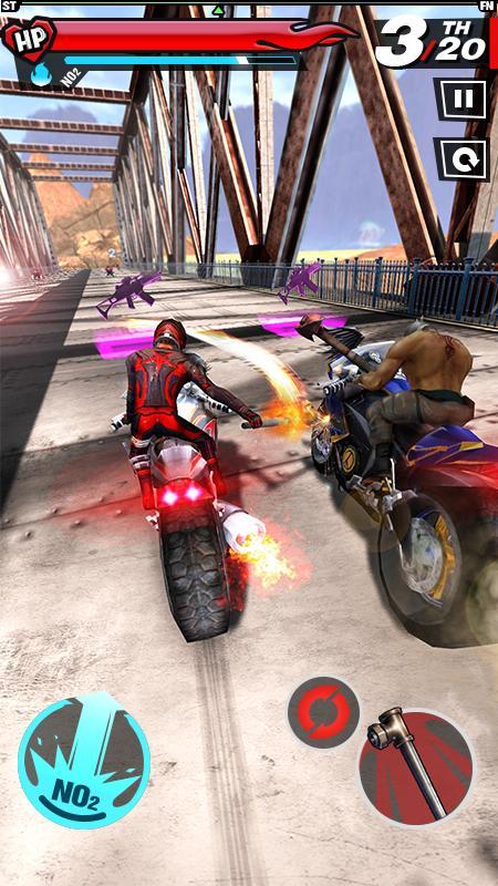 Fury Rider 1.0.3 Screen 1