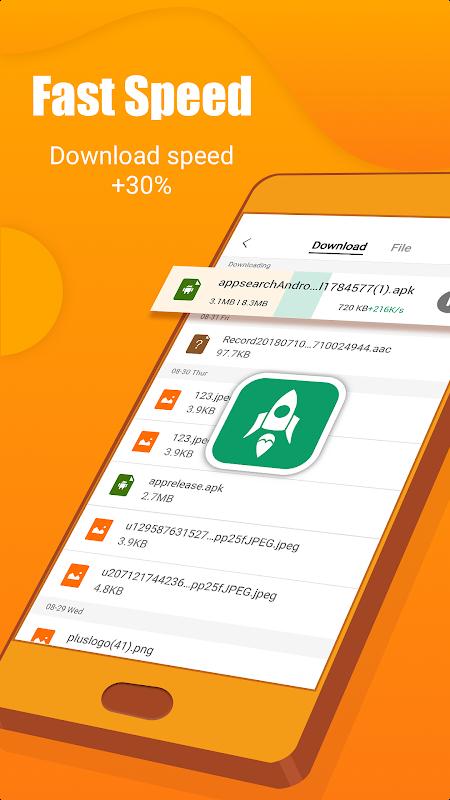 Phoenix browser-Fast browsing & Data saving V9.9.9 Screen 2