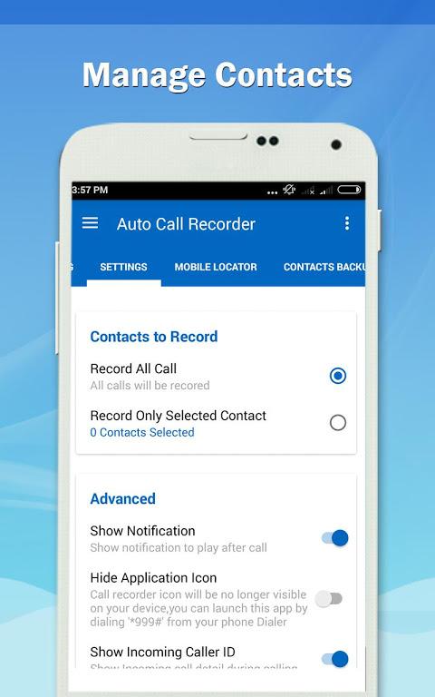 Auto Call Recorder PRO 1.11 Screen 4
