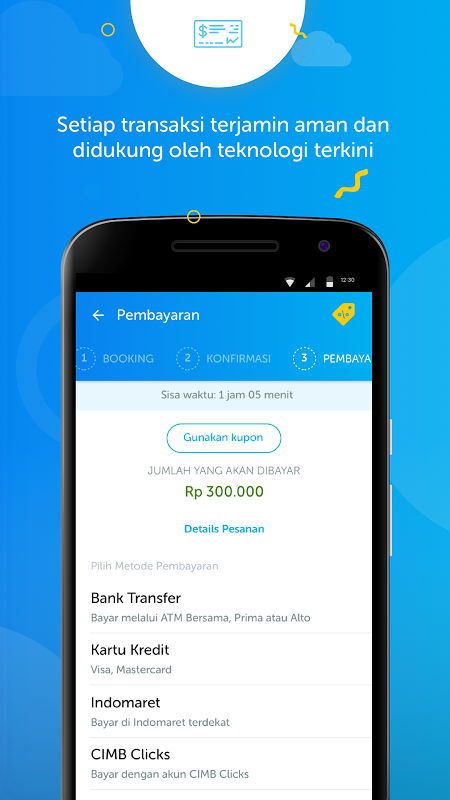 Android Airy - Tiket Pesawat & Hotel Murah Screen 3